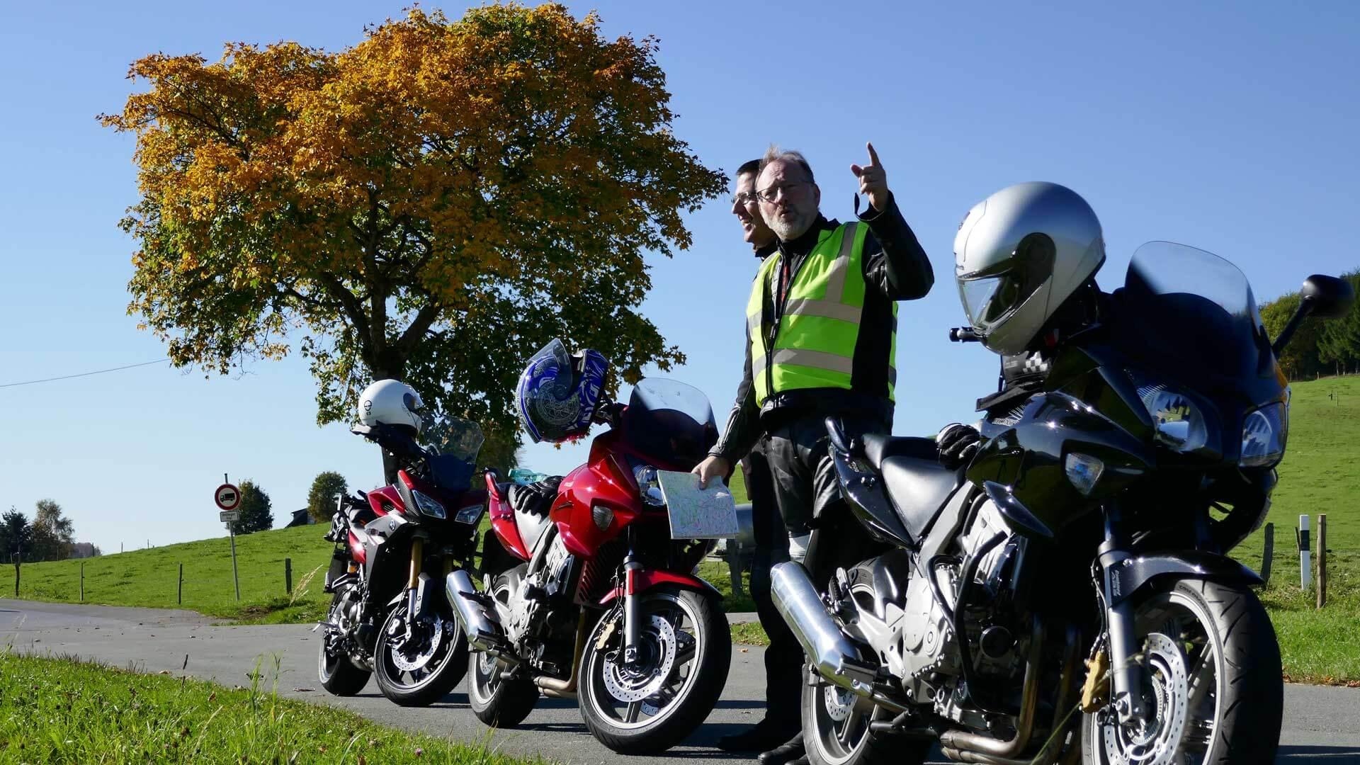 Eckhard Henseling vom Sauerland Tourismus auf der Suche nach neuen Touren