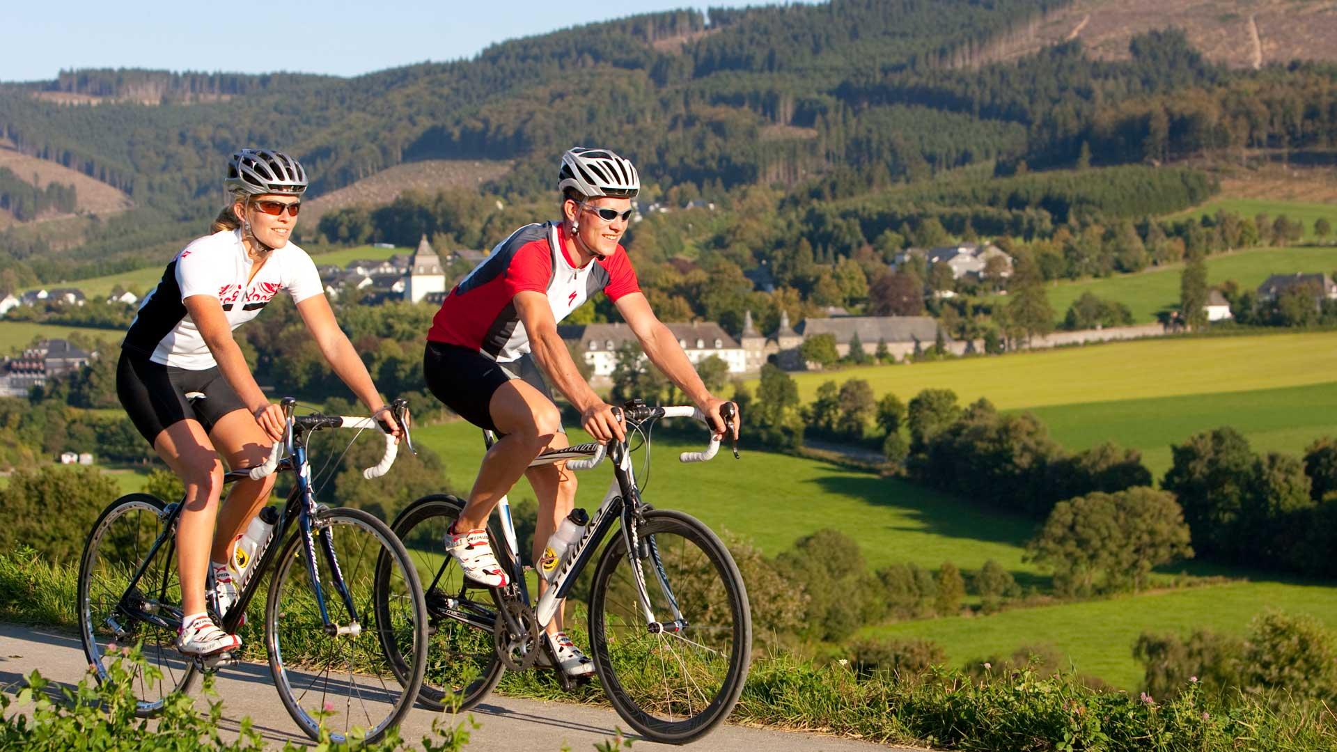 Rennradfahren im Sauerland