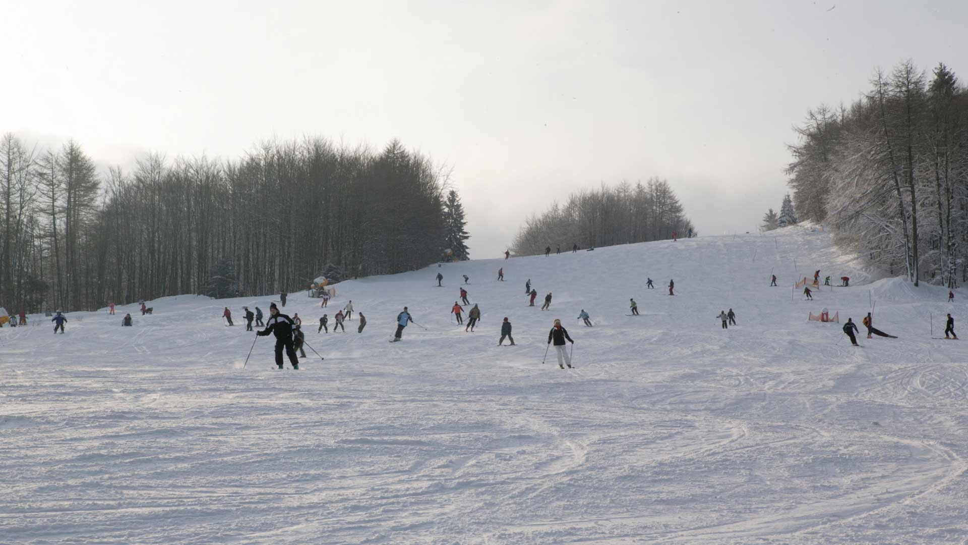 Ski-Abfahrt