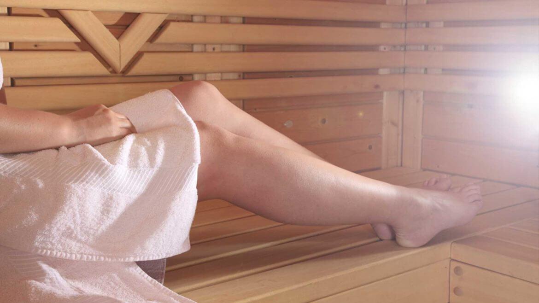 Relaxen in der Sauna
